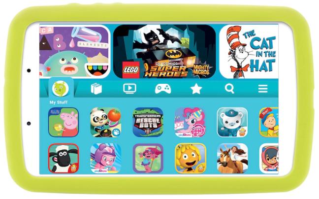 Премьера: Samsung выпустила недорогой детский планшет с мощным аккумулятором