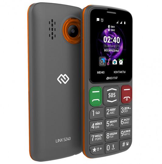 Премьера: В России начались продажи кнопочного телефона Digma с необычным дизайном