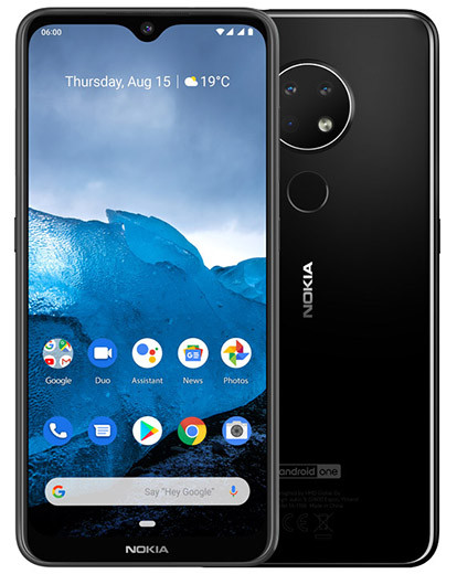 Премьера: В России уже можно купить недорогой смартфон Nokia 6.2 с NFC и корпусом из стекла