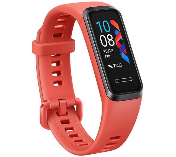 Премьера: Huawei представила в России недорогой фитнес-браслет Band 4 с защитой от воды и батареей на неделю работы