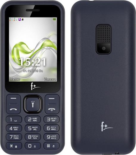 Премьера: В России начались продажи кнопочного телефона F+ F255 ценой менее 1 000 рублей