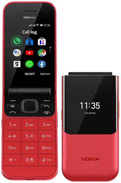 Выпущена новая версия раскладного кнопочного телефона Nokia 2720 Flip с Wi-Fi, LTE и WhatsApp