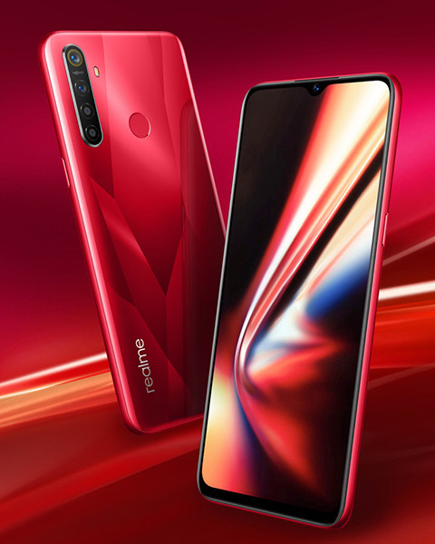 Премьера: Недорогой смартфон realme 5s получил аккумулятор на 5000 мАч и квадрокамеру