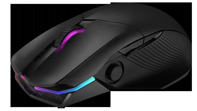 ASUS выпустила геймерскую мышь с беспроводной зарядкой и джойстиком под большой палец