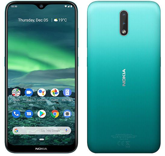 Названа российская цена недорогого смартфона Nokia 2.3 с мощным аккумулятором