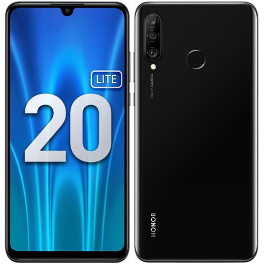 В России начинаются продажи недорогого смартфона Honor 20 Lite с NFC и быстрой зарядкой