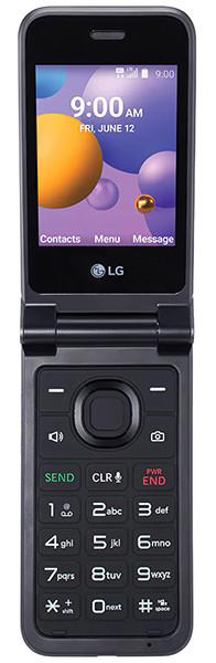 LG представила раскладной кнопочный телефон с Android, Wi-Fi и LTE