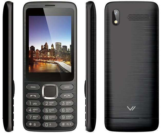 В РФ появился кнопочный телефон за 1 200 рублей с большим экраном и «дорогим» дизайном