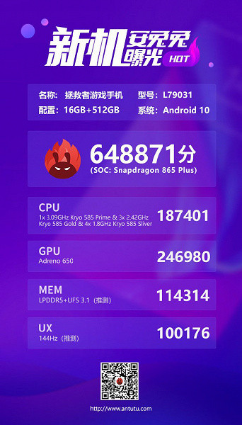 Китайский смартфон на новом процессоре Qualcomm стал самым быстрым в мире