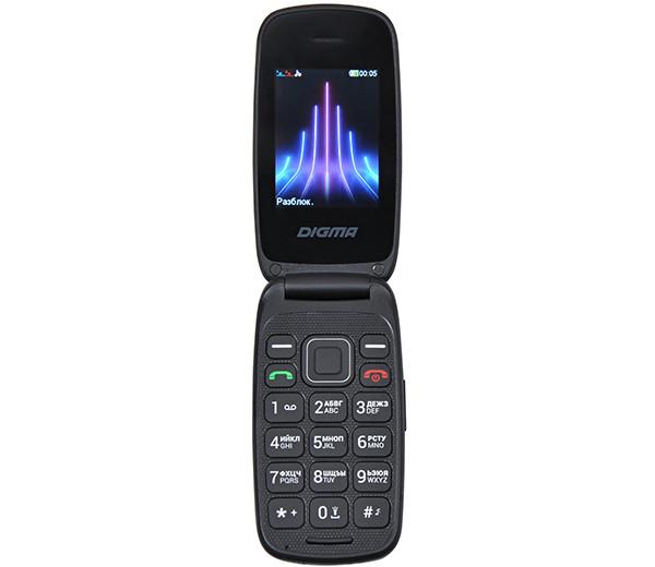 В России появился ультрабюджетный кнопочный телефон-раскладушка Digma Vox A245
