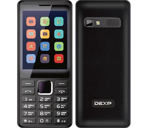 Новый телефон-кнопочник DEXP B321 получил очень большой экран по меркам таких устройств
