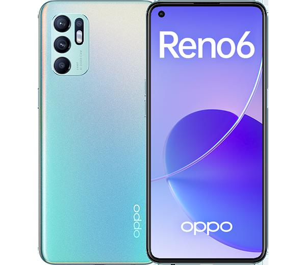 В РФ представили смартфон Oppo Reno6 с 50-ваттной быстрой зарядкой и 8 Гбайт оперативки