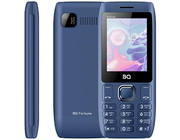 BQ 2450 Fortune: кнопочный телефон с необычным дизайном и тройным фонариком