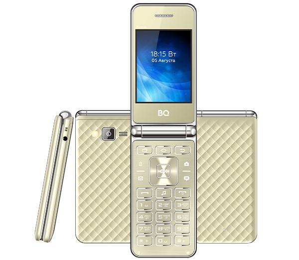 Представлен раскладной кнопочный телефон BQ 2840 Fantasy с крупным экраном и интересным дизайном
