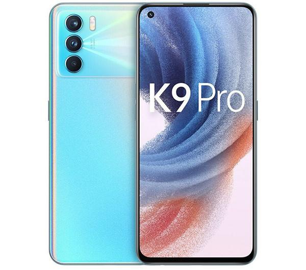 Представлен смартфон Oppo K9 Pro 5G с процессором MediaTek Dimensity 1200 и 60-ваттной зарядкой