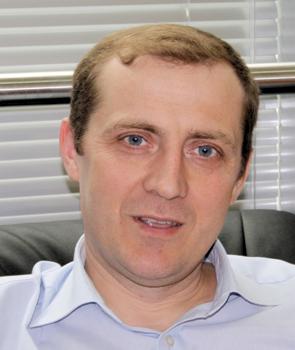 Александр Федына, руководитель направления развития логистической сети холдинга
