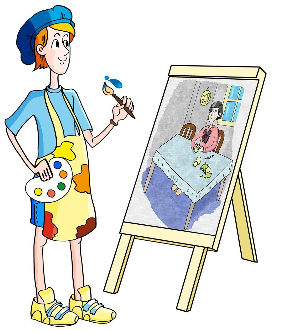 Я б в художники пошёл!