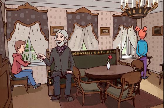 Встреча с Тургеневым