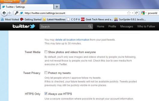 Gmail можно легко перейти на использование протокола HTTPS -- это.