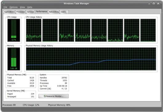 Диспетчер задач Windows поможет проанализировать причины снижения производительности
