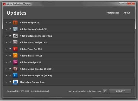 Ежедневно выпускается очередное обновление по крайней мере для одного продукта Adobe