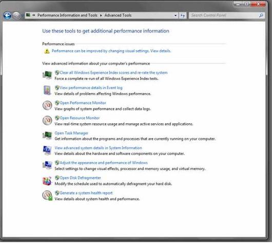 В Windows интегрирован целый ряд полезных диагностических инструментов