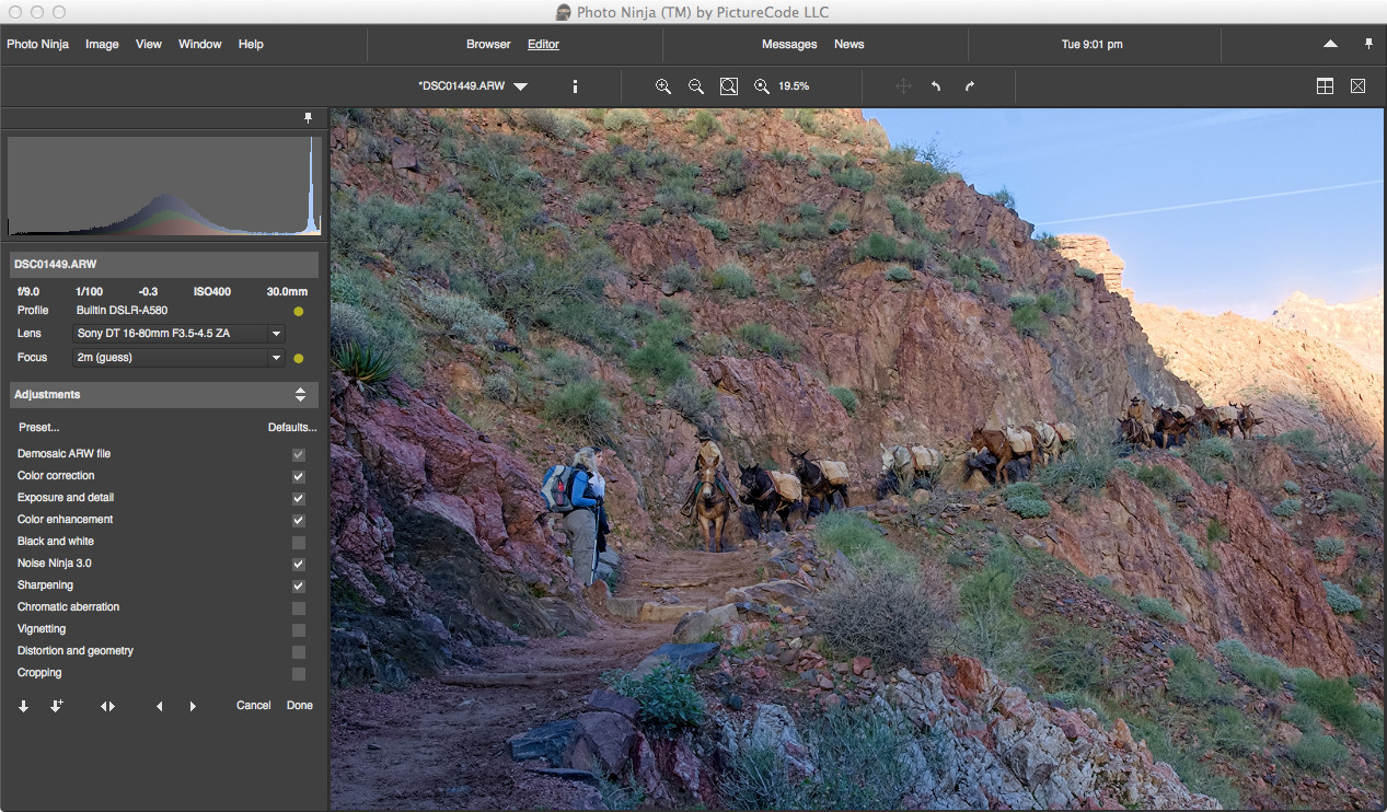 Photo Ninja: обработчик файлов в формате Raw | Мир ПК | Издательство