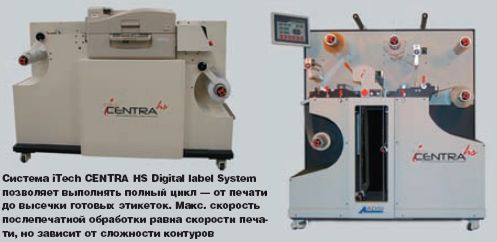 iTech CENTRA HS Digital label System