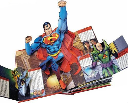 «DC Super Heroes: The Ultimate Pop-Up Book»