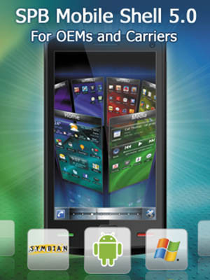 SPB Mobile Shell 5.0 for Android, Symbian & Windows Mobile Download.