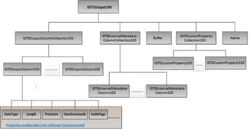 Модель объекта IDTSOutput100