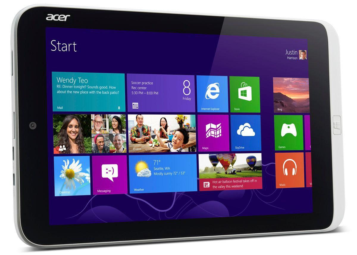Computex: Acer выпускает 8-дюймовый планшет на базе Windows и смартфон с экраном в 5,7 дюйма