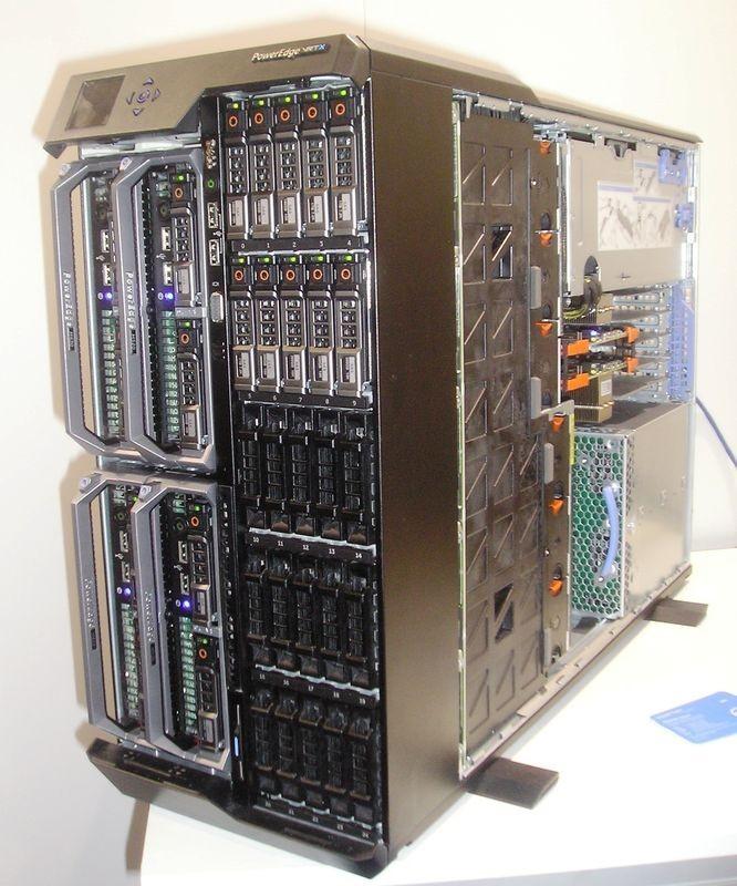 Dell представляет новые стоечные серверы на базе Intel Xeon E7 v2