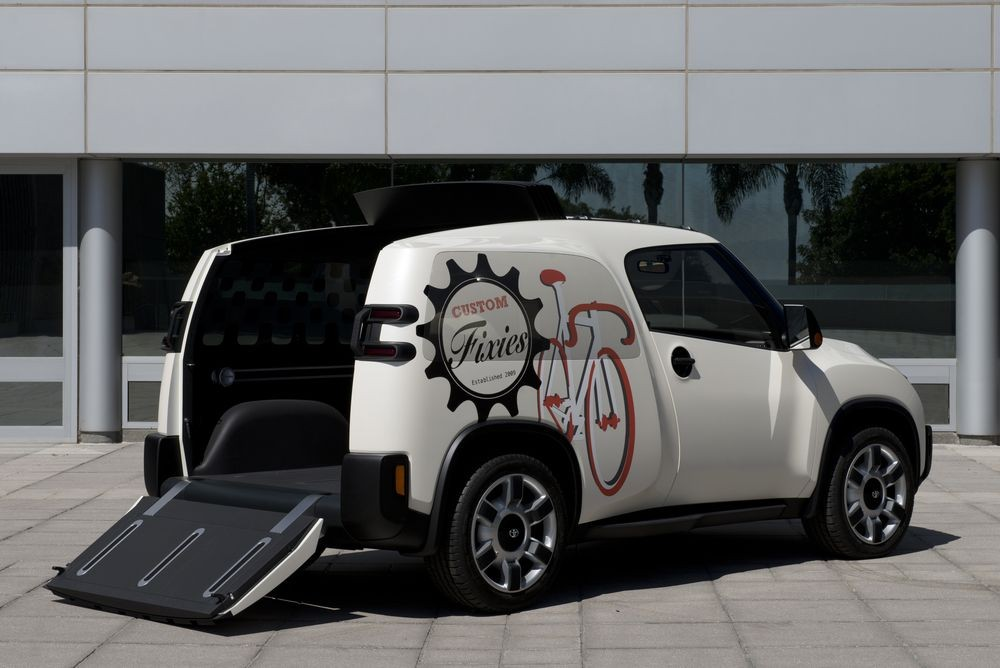 Toyota U2: автомобиль-«раскладушка»