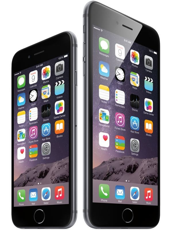 Apple представляет iPhone 6 и iPhone 6 Plus