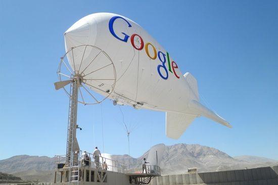 Google окружит мир небесным Интернетом