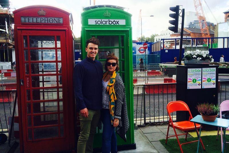 Телефонные будки в Лондоне станут зарядными станциями для мобильных телефонов