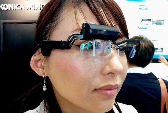 CEATEC: Konica Minolta представляет голографические очки