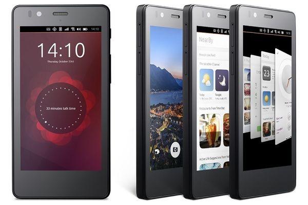 Вышел первый смартфон на Ubuntu