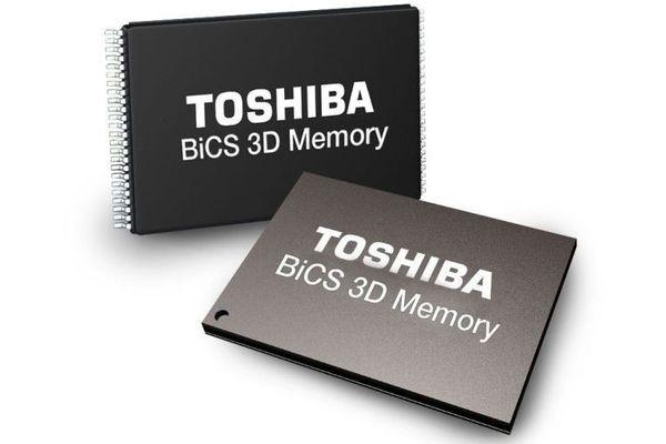 Toshiba анонсирует флеш-память рекордной плотности