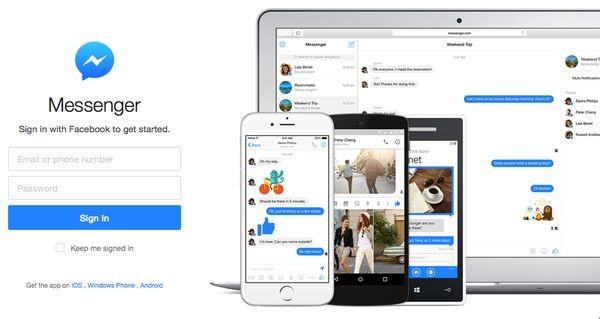 Facebook выпускает самостоятельное веб-приложение Messenger