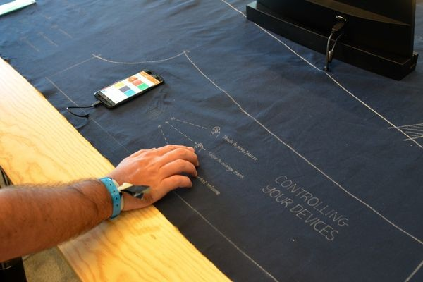 Google I/O 2015: умная ткань и интерфейсы жестов вместо сенсорных экранов