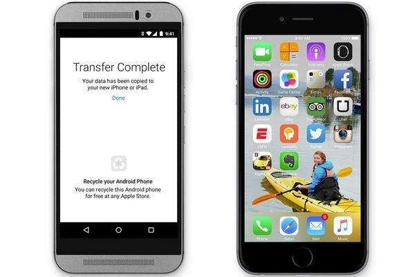 Apple делает приложение для перехода с Android на iOS