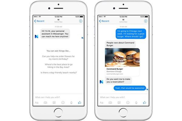 Facebook тестирует конкурента для Siri и Cortana