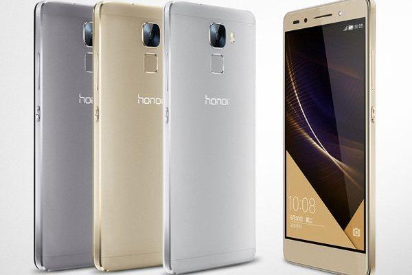 В России представлен металлический смартфон Huawei Honor 7