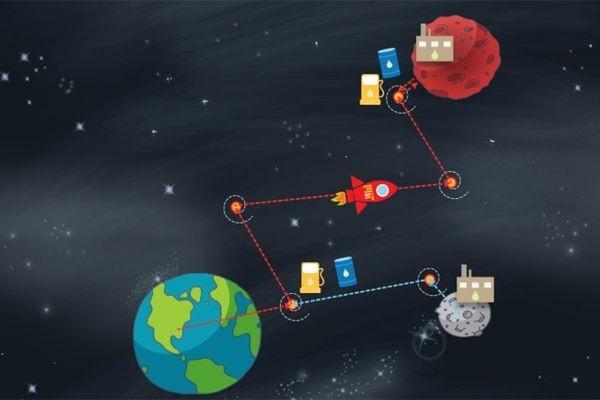 МТИ: полет на Марс проще всего совершить, если сделать крюк к Луне для дозаправки