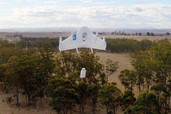 В Google готовы начать доставку товаров дронами с 2017 года