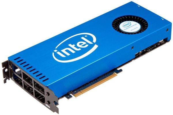 Самый мощный чип Intel появится в суперкомпьютерах в следующем году