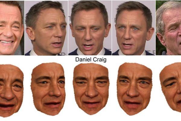 Исследователи научили компьютерные модели передразнивать выражение лиц политиков и актеров