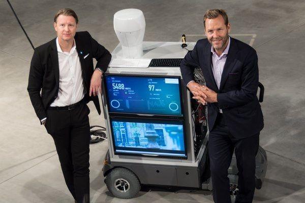 У Ericsson появился 5G-телефон весом в 150 кг